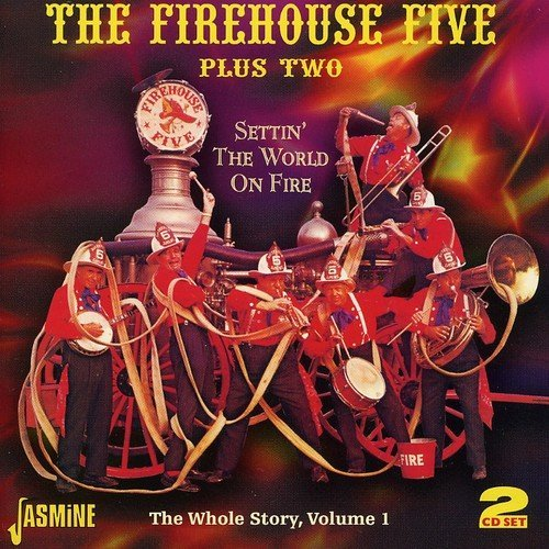 Firehouse Five Plus Two Vol. 1 Settin' The World On Fi 2 CD Set