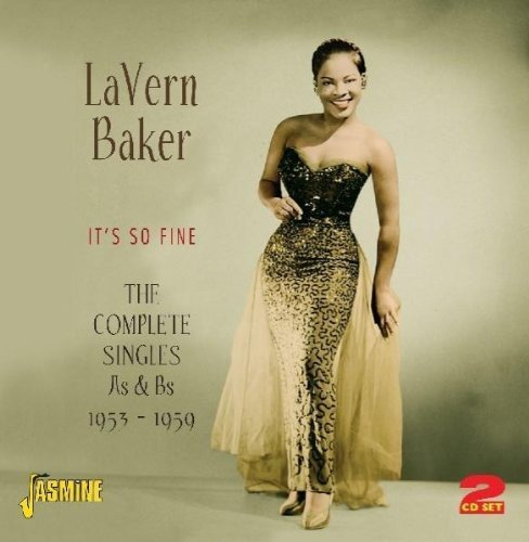 Lavern Baker Its So Fine Complete Singles A Import Gbr 2 CD