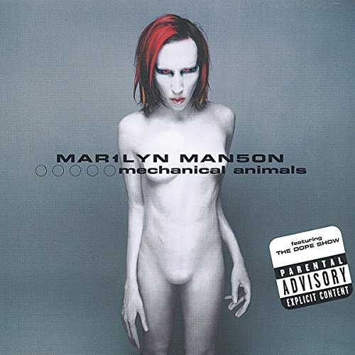 Marilyn Manson Mechanical Animals Explicit Version Explicit Cover 2 CD