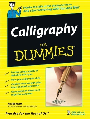 jim-bennett-calligraphy-for-dummies