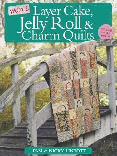 Pam Lintott More Layer Cake Jelly Roll & Charm Quilts