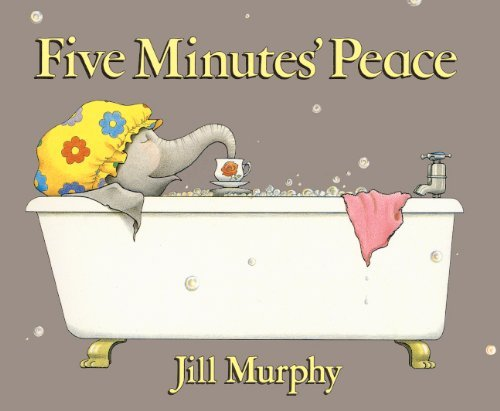 Jill Murphy Five Minutes' Peace Bound For Schoo