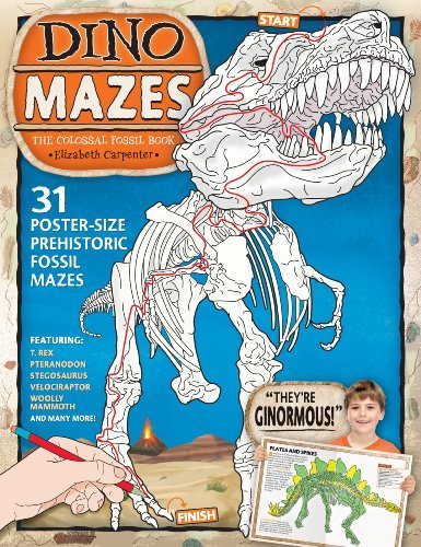 Elizabeth Carpenter Dinomazes The Colossal Fossil Book Updated