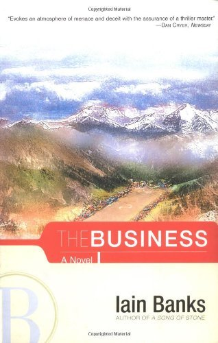 Iain M. Banks The Business Scribner Pb Fic