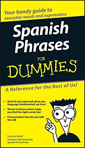 Susana Wald Spanish Phrases For Dummies
