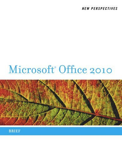 Ann Shaffer New Perspectives On Microsoft Office 2010 Brief