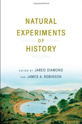 Jared Diamond Natural Experiments Of History