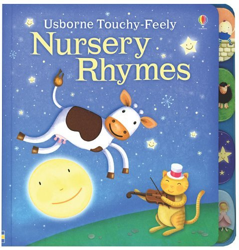 Fiona Watt Nursery Rhymes Touchy Feely Board Book
