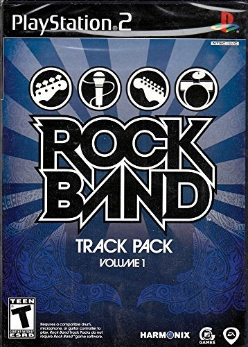 Ps2 Rock Band Track Pack Vol. 1