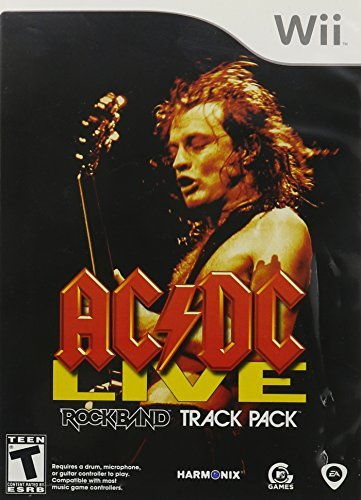 Wii Rock Band Track Pack Ac Dc Live