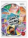 Wii Hasbro Family Game Night 2