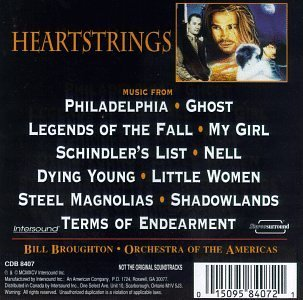 Heartstrings Heartstrings Themes From Holly Music By Bill Bourghton Ghost Nell My Girl Philadephia