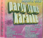 Sybersound Party Tyme Karaoke Acoustic Go Karaoke Help Me Danny's Song Fast Car Cruel To Be Kind