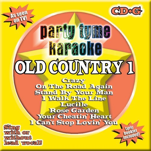 Party Tyme Karaoke Old Country Karaoke Incl. Cdg 8+8 Song