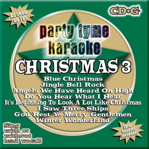 Party Tyme Karaoke Vol. 3 Christmas Karaoke Incl. Cdg 8+8 Song