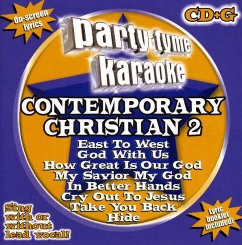 Party Tyme Karaoke Vol. 2 Contemporary Christian Karaoke Incl. Cdg 8+8 Song