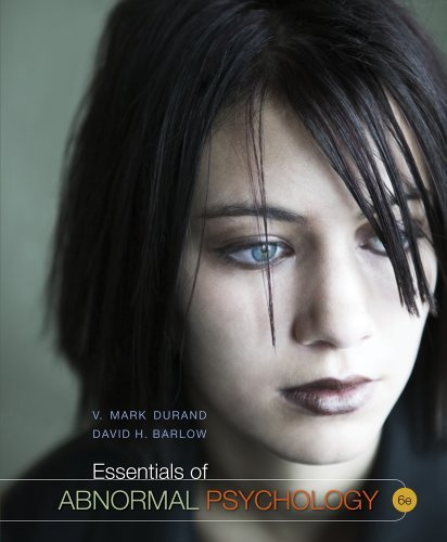 V. Mark Durand Essentials Of Abnormal Psychology (with Psychology 0006 Edition;revised