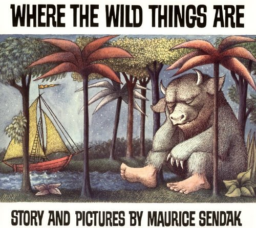 Maurice Sendak Where The Wild Things Are 0025 Edition;school & Librar