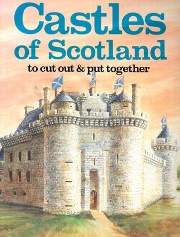 Bull Moose. Bellerophon Books Castles Of Scotland Coloring Book