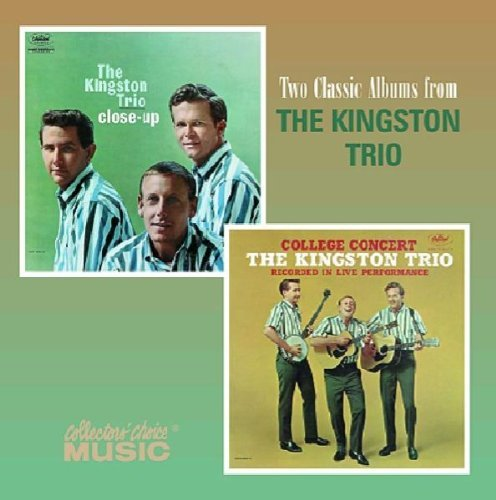 Kingston Trio Close Up College Concert 2 On 1