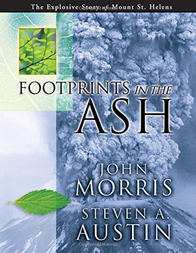 John Morris Footprints In The Ashes (hardcover)