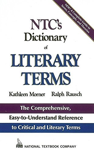 Kathleen Morner Ntc's Dictionary Of Literary Terms