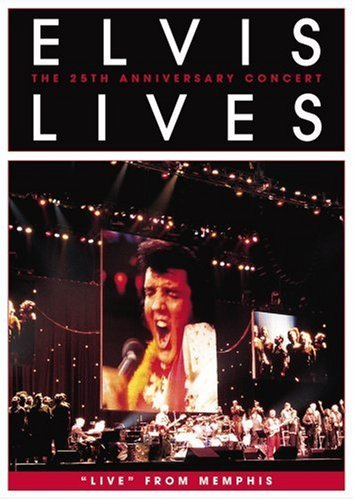 Elvis Presley Elvis Lives Live From Memphis Amaray Nr 25th Anniv.