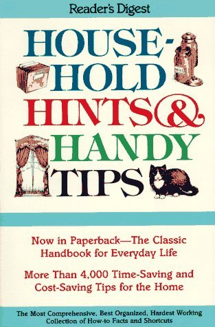Editors Of Reader's Digest Household Hints And Handy Tips