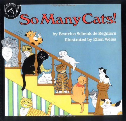 Ellen Weis Goldstrom So Many Cats!