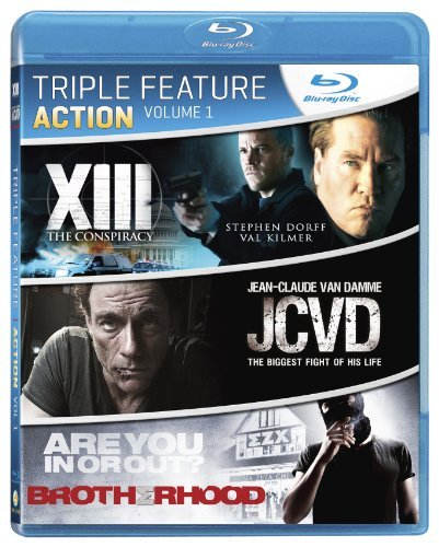 Action Triple Feature Vol. 1 Ws Blu Ray R