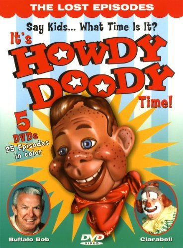 It's Howdy Doody Time Lost Episodes Clr Chnr 5 DVD Tin Can Coll Ed.