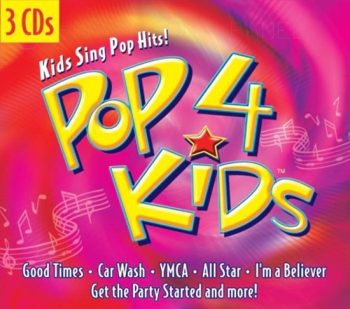 Countdown Kids Pop 4 Kids 3 CD Set Digipak