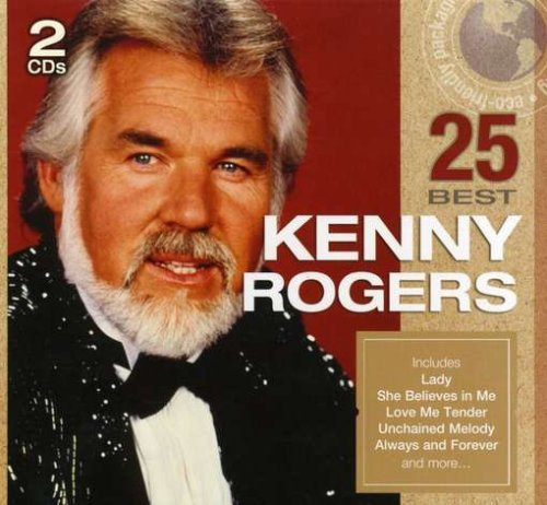 Kenny Rogers 25 Best Green Packaging 2 CD Set