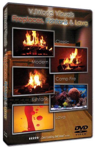 Vjworld Visuals Fireplaces Fishtank & Lava Ws Nr