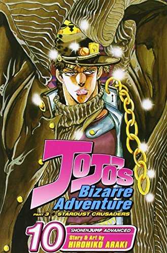 Hirohiko Araki Jojo's Bizarre Adventure Part 3 Volume 10 Stardust Crusaders