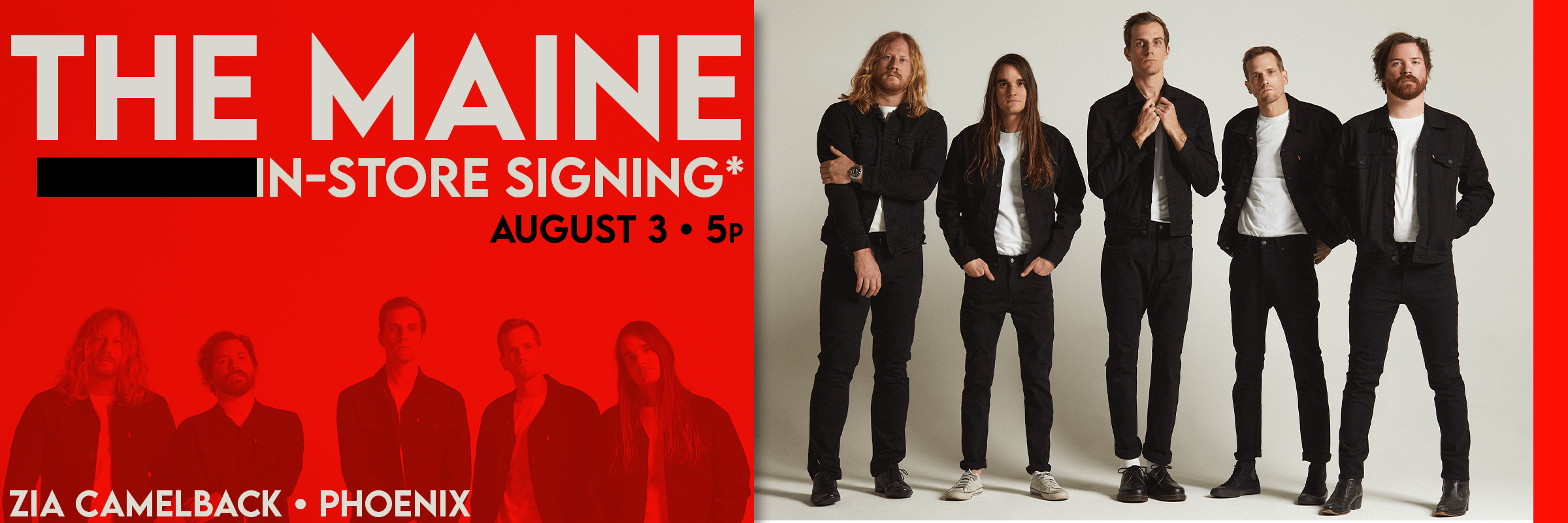 The Maine In-Store Signing