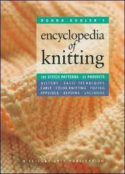 Donna Kooler Donna Kooler's Encyclopedia Of Knitting (leisure A