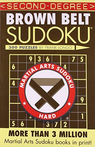 Frank Longo Second Degree Brown Belt Sudoku(r)