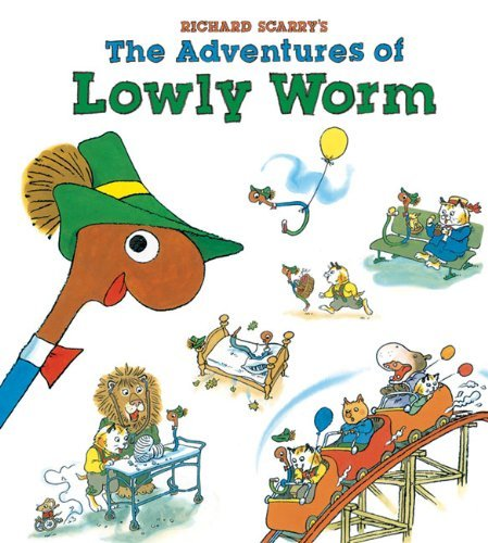 Richard Scarry Richard Scarry's The Adventures Of Lowly Worm