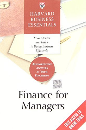 Harvard Business School Press Finance For Managers