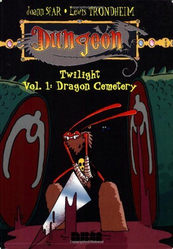 Joann Sfar Dungeon Twilight Vol. 1 Dragon Cemetery