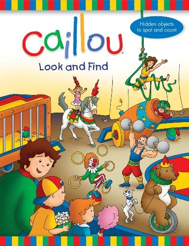 Anne Paradis Caillou Look And Find
