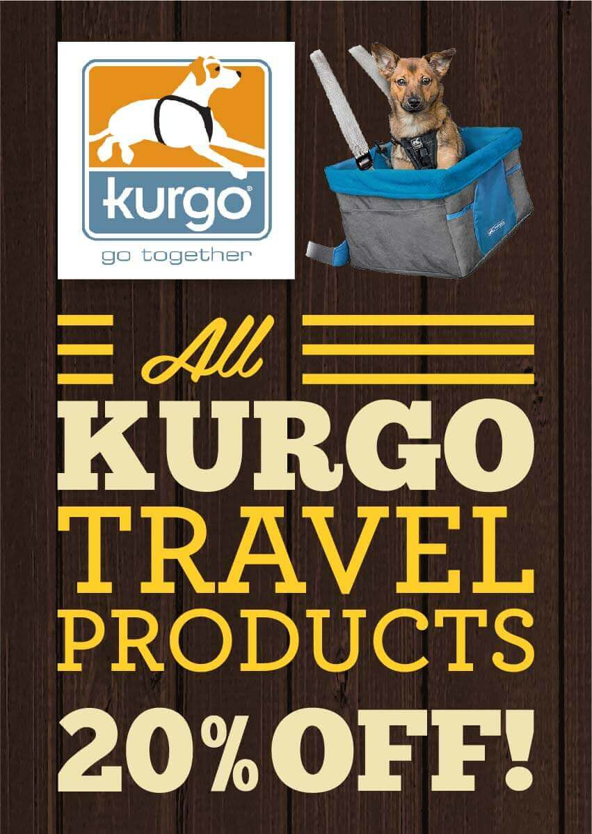 Kurgo travel products - 20% Off