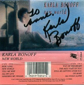 Karla Bonoff New World (171 014 1)