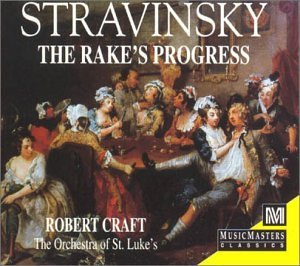 I. Stravinsky Rake's Progress Comp Opera