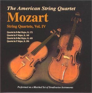 W.A. Mozart Vol. 4 Qrt String (4)