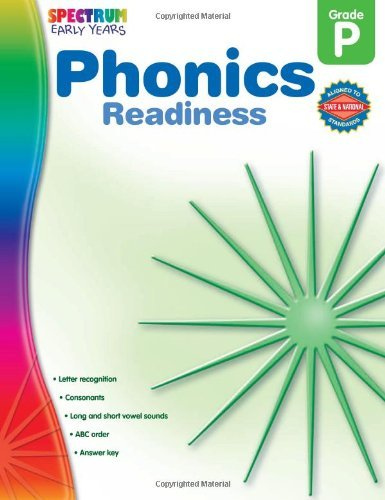 Spectrum Phonics Readiness Grade Pk