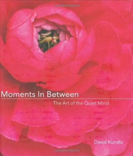 David Kundtz Moments In Between The Art Of The Quiet Mind (daily Meditations; Ins