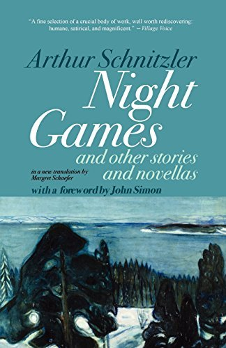 Arthur Schnitzler Night Games And Other Stories And Novellas