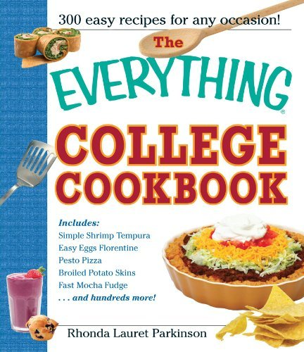 Rhonda Lauret Parkinson Everything College Cookbook 0005 Edition;